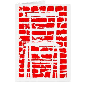 哲学者の」目の錯覚の挨拶状 カード