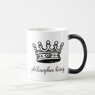 哲学者王熱変形させるマグ(左) マジックマグカップ