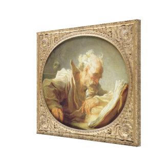 哲学者、c.1764 キャンバスプリント
