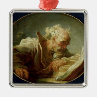 哲学者、c.1764 メタルオーナメント