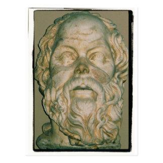 哲学者Socrates ポストカード