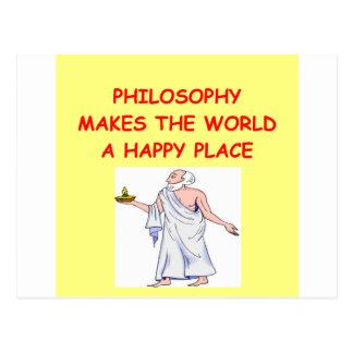 哲学 ポストカード