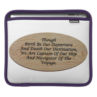 哲学、自己断言のiPadの袖 iPadスリーブ