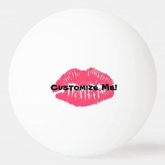 唇のピンポン球ビールPongのカスタマイズ可能な口紅 ピンポンボール