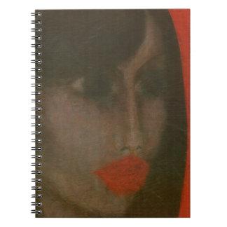 唇 ノートブック