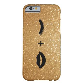 唇 + 写実的な鞭 BARELY THERE iPhone 6 ケース