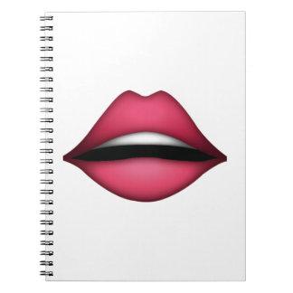 唇- Emoji ノートブック
