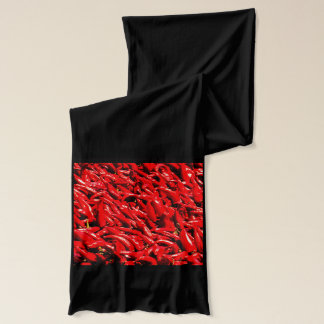 唐辛子のジャージーのスカーフ スカーフ