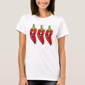 唐辛子のスマイル Tシャツ