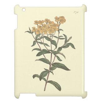 唐辛子のマリーゴールドの植物の絵 iPadケース