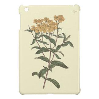 唐辛子のマリーゴールドの植物の絵 iPad MINIケース