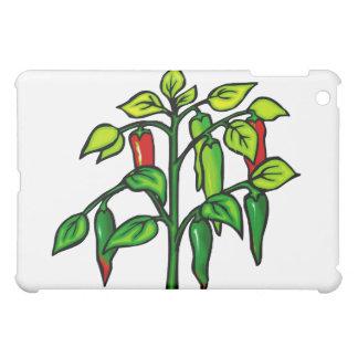 唐辛子の植物写実的な多くのコショウ iPad MINIケース