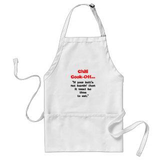 """唐辛子の調理師…、""""あなたのbutt'snotのburnin t… スタンダードエプロン"""