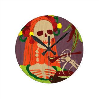 唐辛子コロラド州 ラウンド壁時計