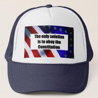 唯一の解決が付いている野球帽は従うことです キャップ
