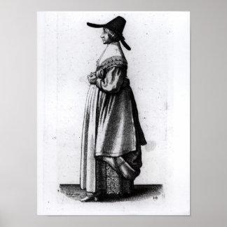 商人の妻1640年 ポスター