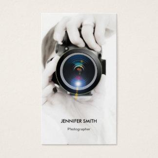 商品のカメラマン-シックでエレガントな写真 名刺