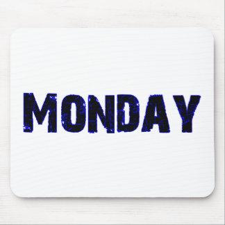 商品月曜日の曜日 マウスパッド