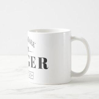 商標のショウガ コーヒーマグカップ
