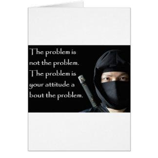 問題は問題によってがあなたのである問題ではないです カード