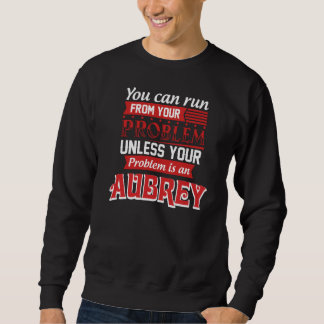 問題はAUBREYです。 ギフトの誕生日 スウェットシャツ