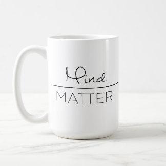 問題(左利き)のマグ上の心 コーヒーマグカップ