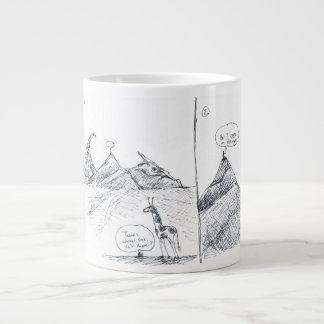 啓示の災難のマグ ジャンボコーヒーマグカップ