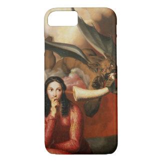善悪: 若い女性、1を誘惑している悪魔 iPhone 8/7ケース