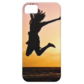 喜びのお洒落で及びスタイリッシュなiPhone 5/5sのための跳躍 iPhone SE/5/5s ケース