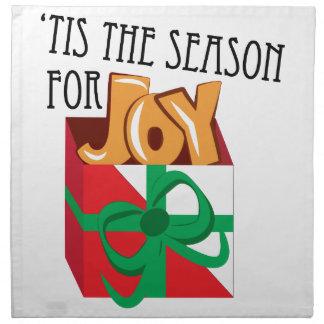 喜びのための季節 ナプキンクロス