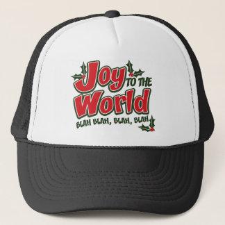 喜びの世界の何とかかんとかトラック運転手の帽子 キャップ