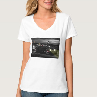 喜びの乗車B&W Tシャツ