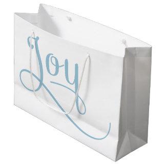 喜びの原稿の空 ラージペーパーバッグ