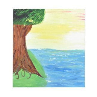 喜びの木 ノートパッド