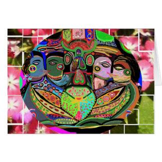 喜びの格子Ovel -プライドの芸術 カード