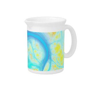 喜びの流れ-宇宙水及びレモン ピッチャー