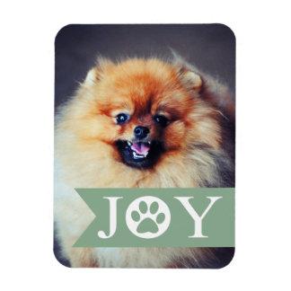 喜びの真新しい旗ペット写真の休日の磁石 マグネット