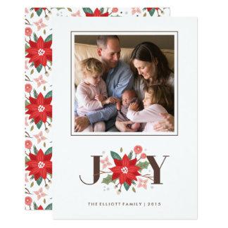 喜びの華麗さの休日カード-白 12.7 X 17.8 インビテーションカード