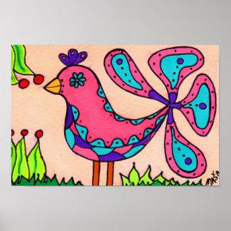 喜びの鳥 ポスター