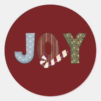 喜びの~Christmasの~ ラウンドシール