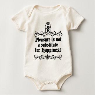 喜びは中世幸福のためのAsubstituteではないです ベビーボディスーツ