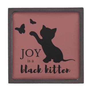 喜びは黒い子ネコです ギフトボックス