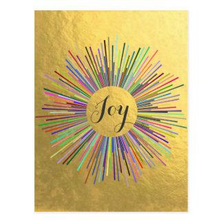 喜びを広げて下さい ポストカード
