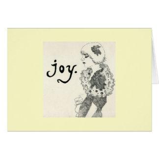 喜び カード