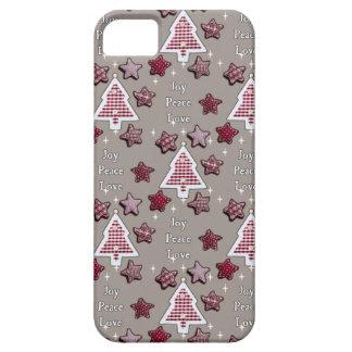 喜び、平和、愛! iPhone SE/5/5s ケース