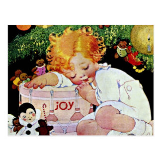 喜び、Edwardianのクリスマス ポストカード