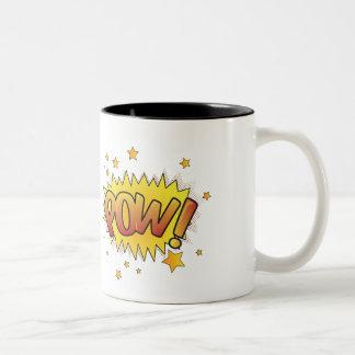 喜劇的なキャプションコーヒーカップ ツートーンマグカップ