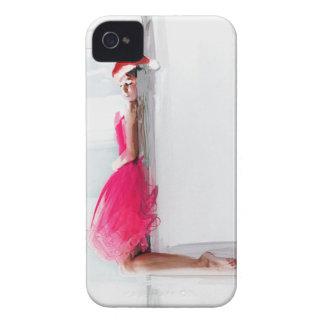 喜劇的なクリスマスのiphone 4ケース Case-Mate iPhone 4 ケース