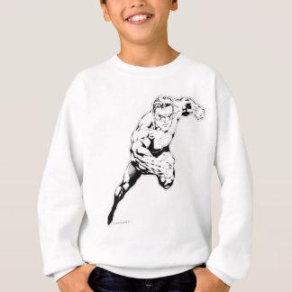 喜劇的なスタイル-白黒速いジャンプ スウェットシャツ