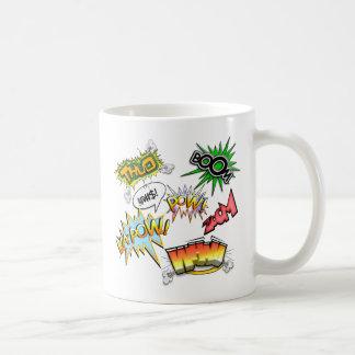 喜劇的な変化 コーヒーマグカップ